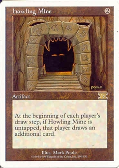 Magic the Gathering 6th Edition Single Howling Mine - NEAR MINT (NM)