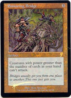 Magic the Gathering 7th Edition Single Ensnaring Bridge Foil