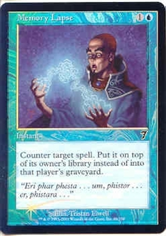 Magic the Gathering 7th Edition Single Memory Lapse Foil