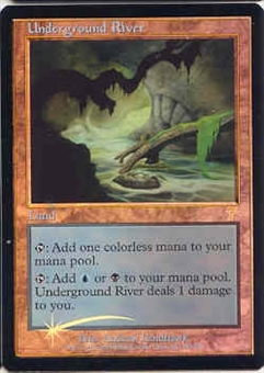Magic the Gathering 7th Edition Single Underground River Foil