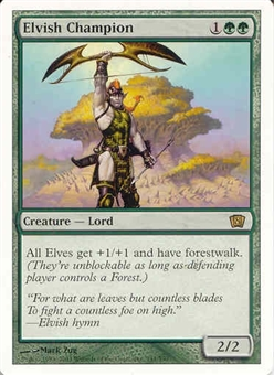 Magic the Gathering 8th Edition Single Elvish Champion - NEAR MINT (NM)