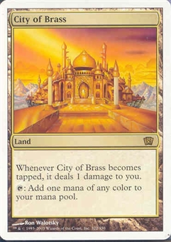Magic the Gathering 8th Edition Single City of Brass UNPLAYED (NM/MT)