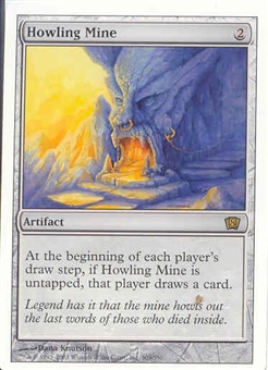 Magic the Gathering 8th Edition Single Howling Mine UNPLAYED (NM/MT)