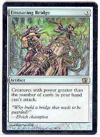 Magic the Gathering 8th Edition Single Ensnaring Bridge FOIL