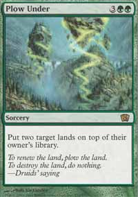Magic the Gathering 8th Edition Single Plow Under - NEAR MINT (NM)
