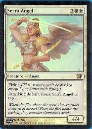 Magic the Gathering 8th Edition Single Serra Angel Foil