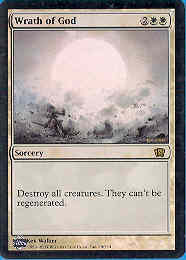 Magic the Gathering 8th Edition Single Wrath of God Foil