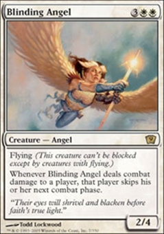 Magic the Gathering 9th Edition Single Blinding Angel - NEAR MINT (NM)