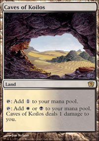Magic the Gathering 9th Edition Single Caves of Koilos - NEAR MINT (NM)