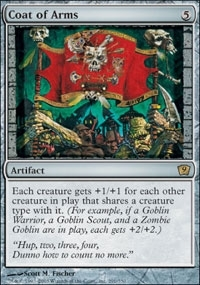 Magic the Gathering 9th Edition Single Coat of Arms FOIL