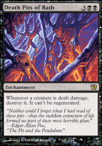 Magic the Gathering 9th Edition Single Death Pits of Rath - NEAR MINT (NM)