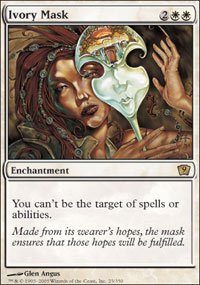 Magic the Gathering 9th Edition Singles 4x Ivory Mask - NEAR MINT (NM)
