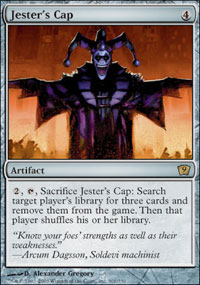 Magic the Gathering 9th Edition Single Jester's Cap - NEAR MINT (NM)
