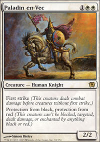 Magic the Gathering 9th Edition Singles 4x Paladin en-Vec - NEAR MINT (NM)