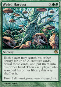 Magic the Gathering 9th Edition Single Weird Harvest - NEAR MINT (NM)