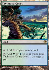 Magic the Gathering 9th Edition Single Yavimaya Coast - NEAR MINT (NM)