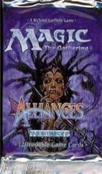 Magic the Gathering Alliances Booster Pack