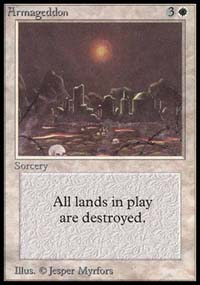 Magic the Gathering Alpha Single Armageddon - NEAR MINT (NM)