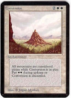 Magic the Gathering Alpha Single Conversion UNPLAYED (NM/MT)