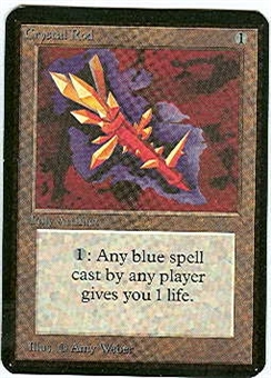 Magic the Gathering Alpha Single Crystal Rod - NEAR MINT (NM)