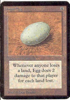 Magic the Gathering Alpha Single Dingus Egg - SLIGHT PLAY (SP)