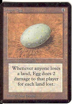Magic the Gathering Alpha Single Dingus Egg - NEAR MINT (NM)