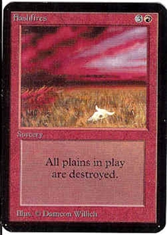 Magic the Gathering Alpha Single Flashfires UNPLAYED (NM/MT)