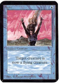 Magic the Gathering Alpha Single Flight - NEAR MINT (NM)