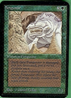 Magic the Gathering Alpha Single Fungusaur UNPLAYED (NM/MT)