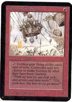 Magic the Gathering Alpha Single Goblin Balloon Brigade - NEAR MINT (NM)