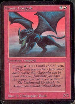 Magic the Gathering Alpha Single Granite Gargoyle - NEAR MINT (NM)