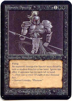 Magic the Gathering Alpha Single Hypnotic Specter LIGHT PLAY (NM)