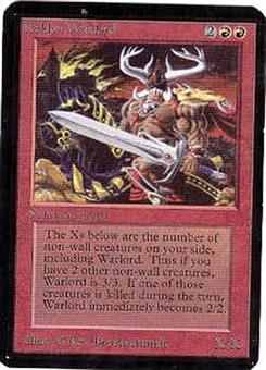 Magic the Gathering Alpha Single Keldon Warlord - NEAR MINT (NM)