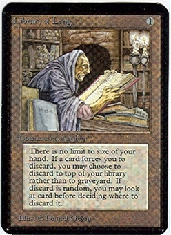 Magic the Gathering Alpha Single Library of Leng - NEAR MINT (NM)