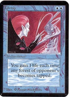 Magic the Gathering Alpha Single Lifetap UNPLAYED (NM/MT)