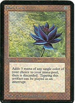 Magic the Gathering Alpha Single Black Lotus UNPLAYED (NM/MT)
