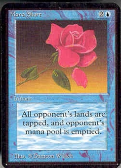 Magic the Gathering Alpha Single Mana Short - NEAR MINT (NM)