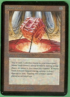 Magic the Gathering Alpha Single Mana Vault - NEAR MINT (NM)