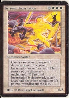 Magic the Gathering Alpha Single Personal Incarnation - NEAR MINT (NM)