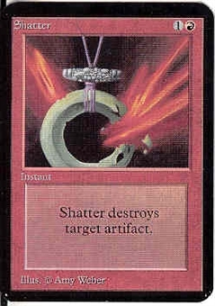 Magic the Gathering Alpha Single Shatter - NEAR MINT (NM)