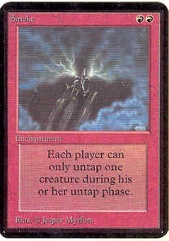 Magic the Gathering Alpha Single Smoke - NEAR MINT (NM)