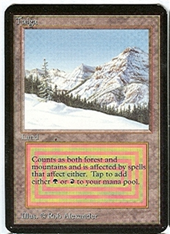 Magic the Gathering Alpha Single Taiga - NEAR MINT (NM)