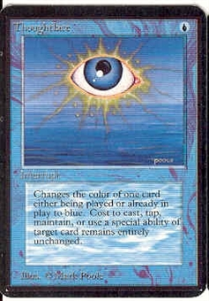 Magic the Gathering Alpha Single Thoughtlace - NEAR MINT (NM)
