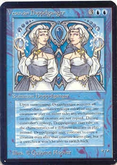Magic the Gathering Alpha Single Vesuvan Doppelganger - SLIGHT PLAY (SP)