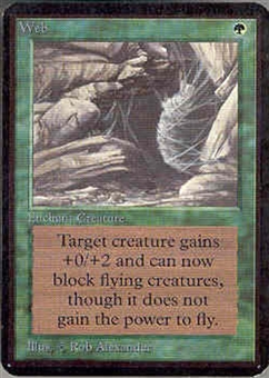 Magic the Gathering Alpha Single Web - NEAR MINT (NM)