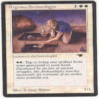 Magic the Gathering Antiquities Single Argivian Archaeologist - NEAR MINT (NM)