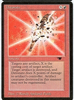 Magic the Gathering Antiquities Single Detonate - NEAR MINT (NM)