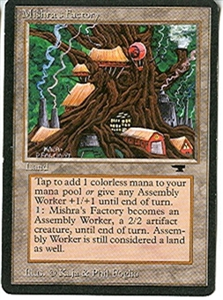 Magic the Gathering Antiquities Single Mishra's Factory (summer) - NEAR MINT (NM)