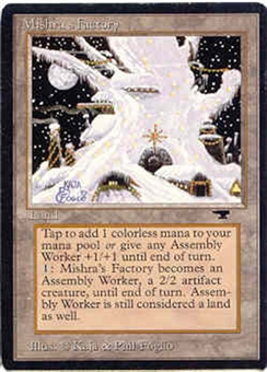 Magic the Gathering Antiquities Single Mishra's Factory (winter) LIGHT PLAY (NM)