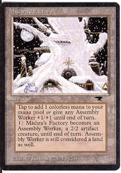 Magic the Gathering Antiquities Single Mishra's Factory (winter) UNPLAYED (NM/MT)